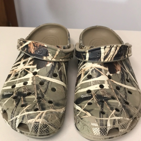 f402ea2f1f08c CROCS Shoes | Mens Camo Advantage Max4 Hd Slides | Poshmark